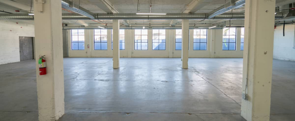 Sunny, Spacious, Raw Warehouse Space for Film or Photography in Los Angeles Hero Image in Central LA, Los Angeles, CA