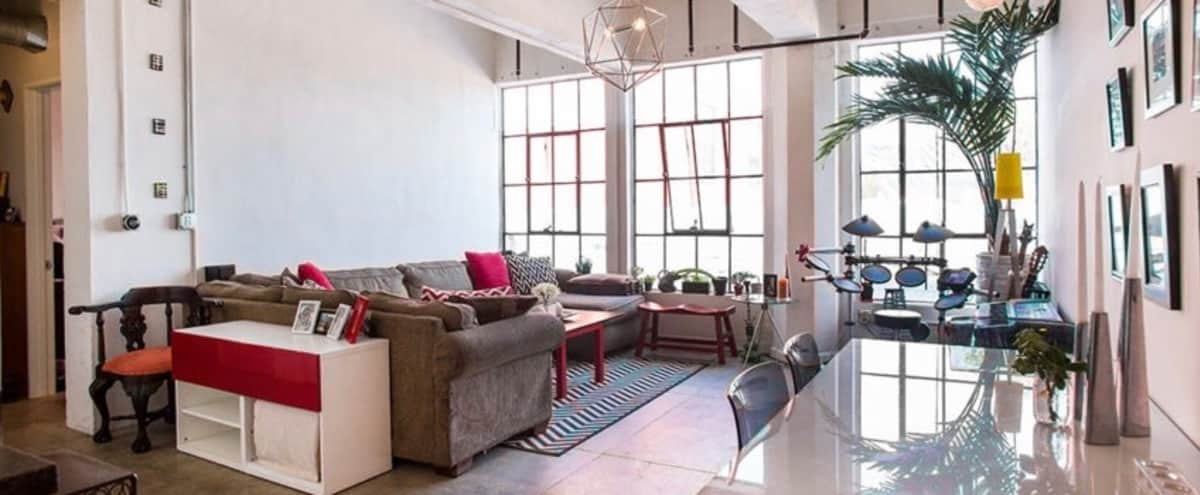 Downtown Loft With Rooftop Access To Stunning Skyline In Los Angeles Hero  Image In Central LA