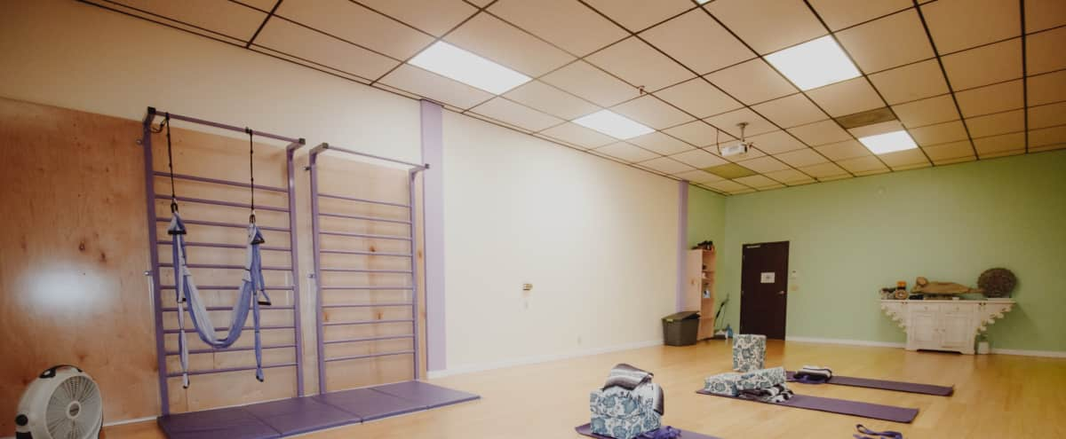 Private Yoga, Dance and Fitness Studio in Long Beach Hero Image in Los Altos, Long Beach, CA