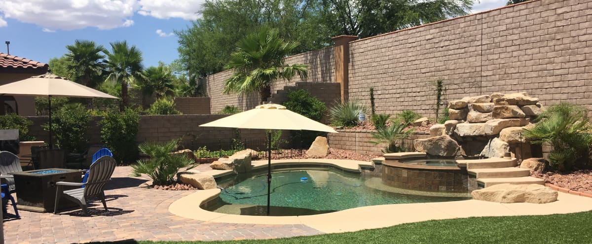 Summerlin Resort Style Home   Perfect for Intimate Events in Las Vegas Hero Image in Summerlin West, Las Vegas, NV