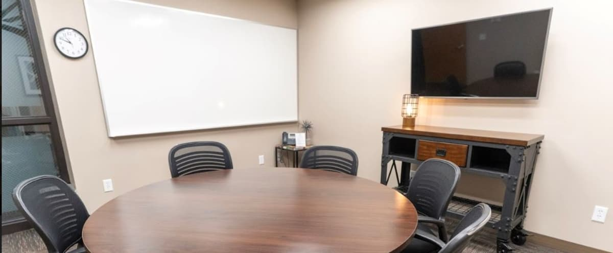 6 Person Conference Room in Woodbury - TV - Whiteboard in Woodbury Hero Image in undefined, Woodbury, MN