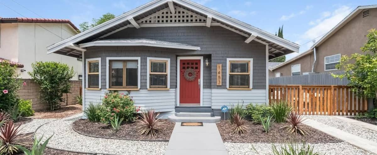 Los Angeles Craftsman Home with large lot in Los Angeles Hero Image in Eagle Rock, Los Angeles, CA