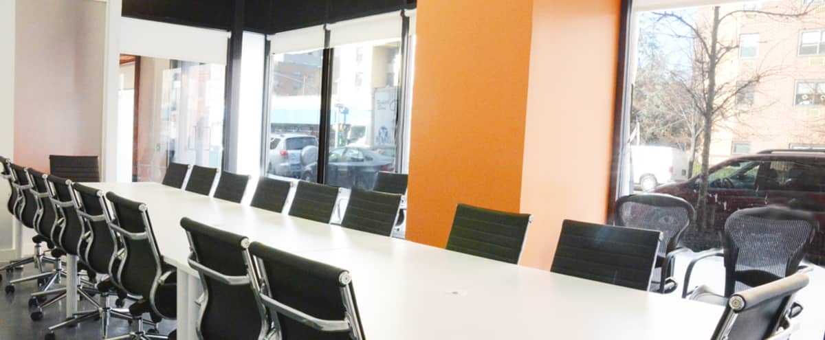 Large Conference room w/natural sunlight and AV system in New York Hero Image in East Harlem, New York, NY