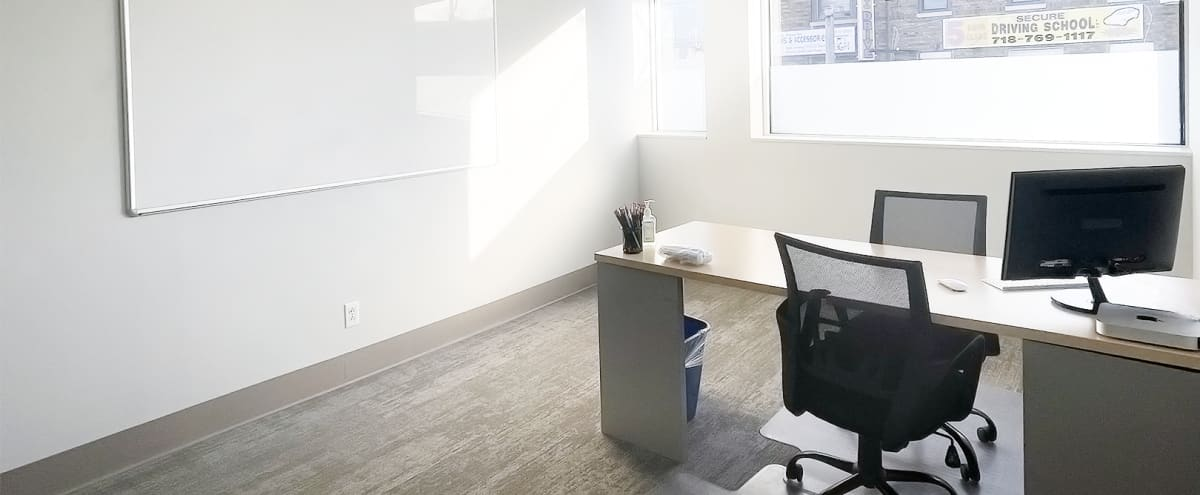 Quiet, Well-Lighted, Comfortable Brooklyn Workspace Office in Brooklyn Hero Image in Sheepshead Bay, Brooklyn, NY
