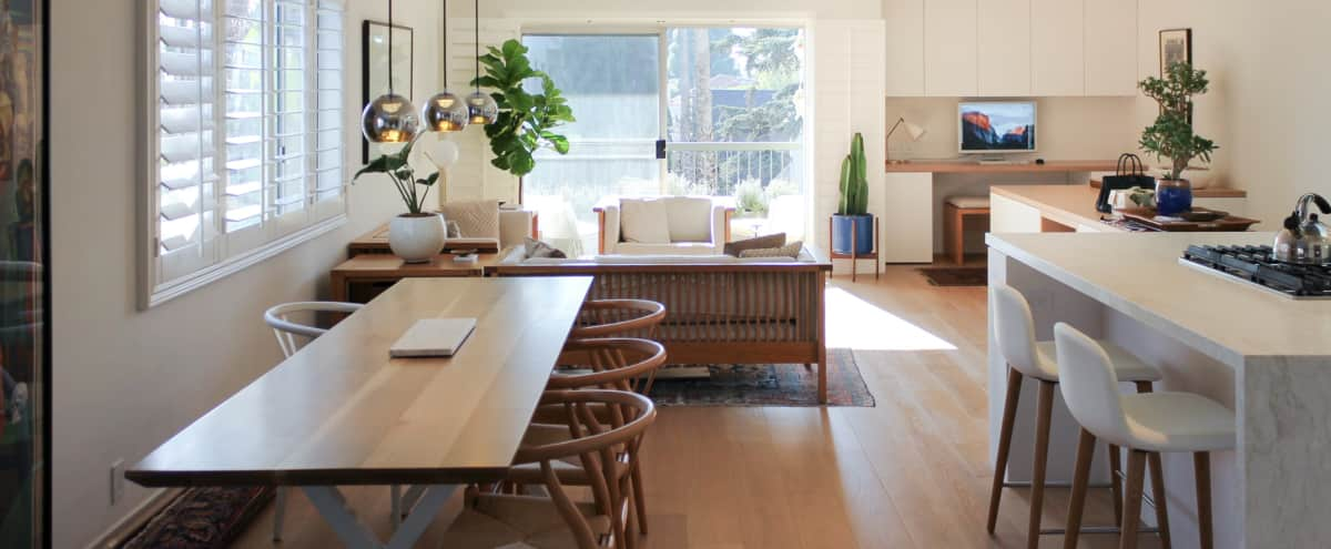 Newly renovated Architect's airy sun-filled apartment off Montana in santa monica Hero Image in Wilshire Montana, santa monica, CA