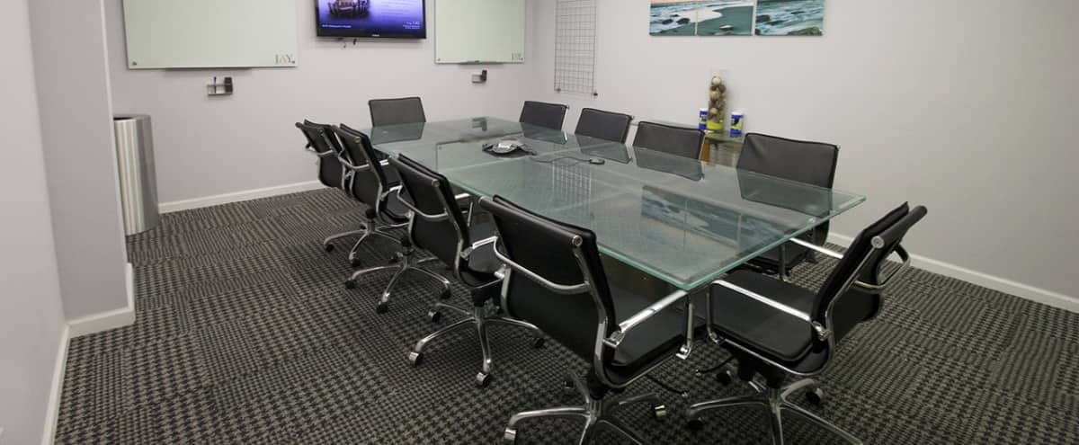 Modern Medium Meeting Room for 12 near Penn Station - PS in New York Hero Image in Garment District, New York, NY