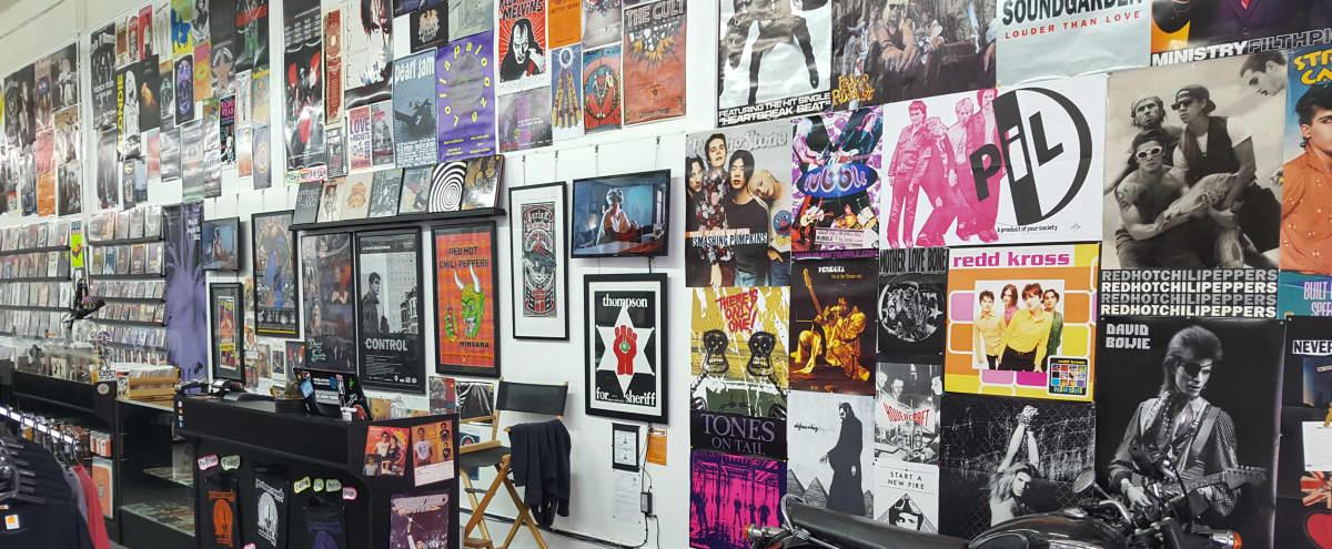 Vinyl Record Store & Art Gallery in Downtown Los Angeles in Los Angeles Hero Image in Central LA, Los Angeles, CA
