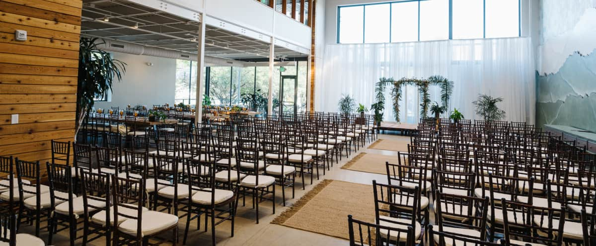 Bright, Modern Event Venue with Kitchen, Breakout Rooms, AV & In-house Amenities in Austin Hero Image in Brentwood, Austin, TX