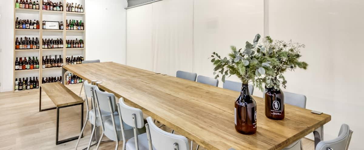 Salle de réunion dans une brasserie parisienne - Meeting room in a parisian brewery in Paris Hero Image in St Ambroise, Paris,