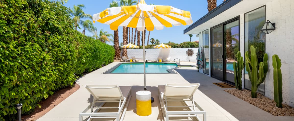 Bright and Colorful Glam Palm Springs Residence in Palm Springs Hero Image in undefined, Palm Springs, CA