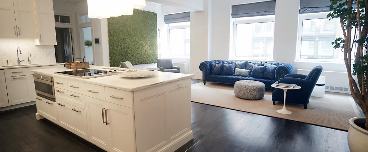 Elegant Luxury NoHo Home - Authentic Artworks, Designer Furniture and a Chefs Kitchen in New York Hero Image in Lower Manhattan, New York, NY