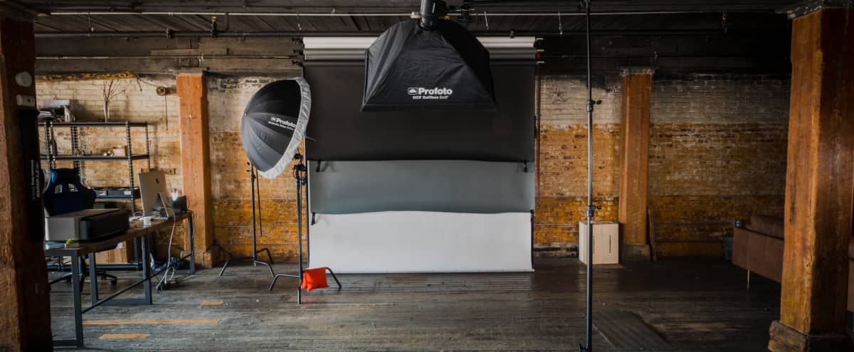 Rustic and Spacious Greenpoint Photo and Video Studio in Brooklyn Hero Image in Greenpoint, Brooklyn, NY