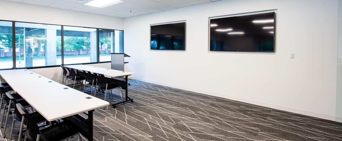 High-Tech Training Room & Classroom for 50 in Dallas Hero Image in Far North Dallas, Dallas, TX