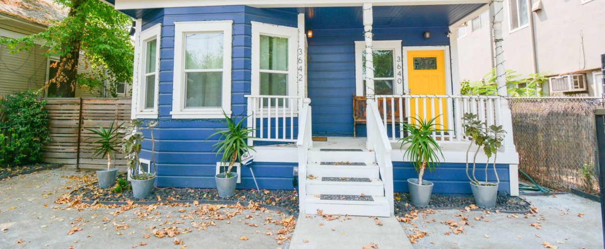 Cozy Duplex Home with Large Roomy Backyard in Sacramento Hero Image in North Oak Park, Sacramento, CA