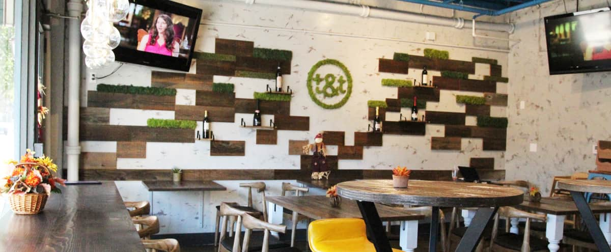 Eclectic & Chic Restaurant in Palo Alto Hero Image in University South, Palo Alto, CA