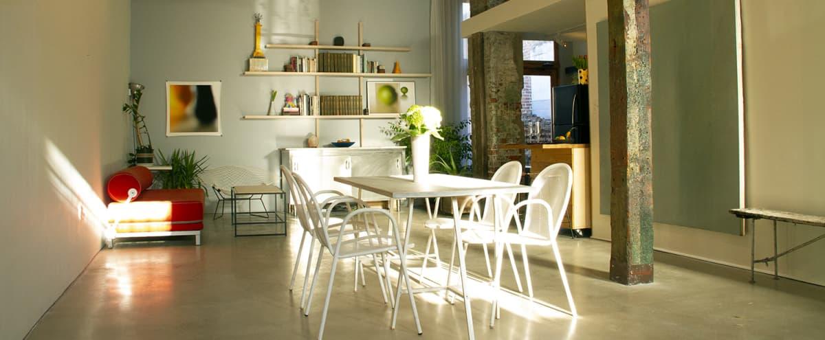 Rustic loft/modern kitchen with private garden in Jersey City Hero Image in Bergen-Lafayette, Jersey City, NJ