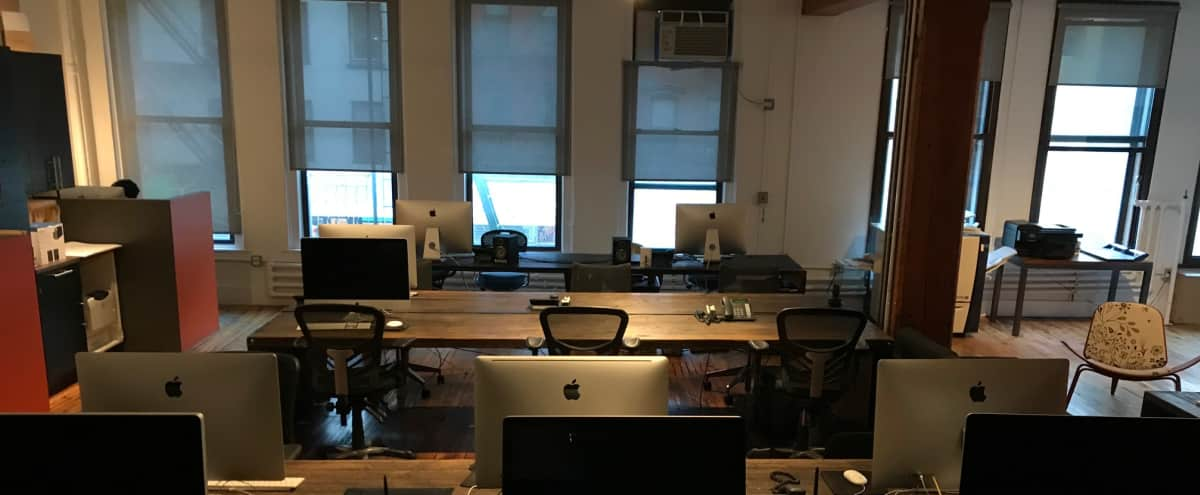 Lower Manhattan Agency Outfitted for Creative Development in New York Hero Image in Lower Manhattan, New York, NY