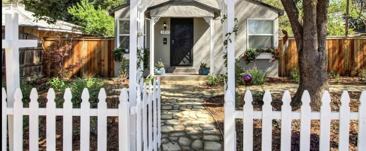 Art Gallery Themed Bungalow with a Huge Backyard in Sacramento Hero Image in Central Oak Park, Sacramento, CA