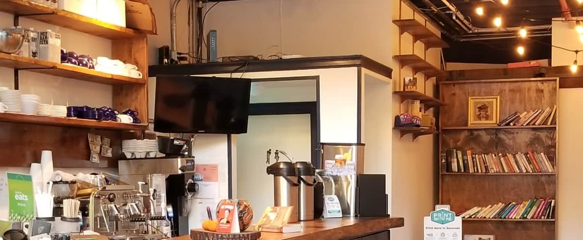 Modern Coffee Shop in Sunset Park in Brooklyn Hero Image in Greenwood, Brooklyn, NY