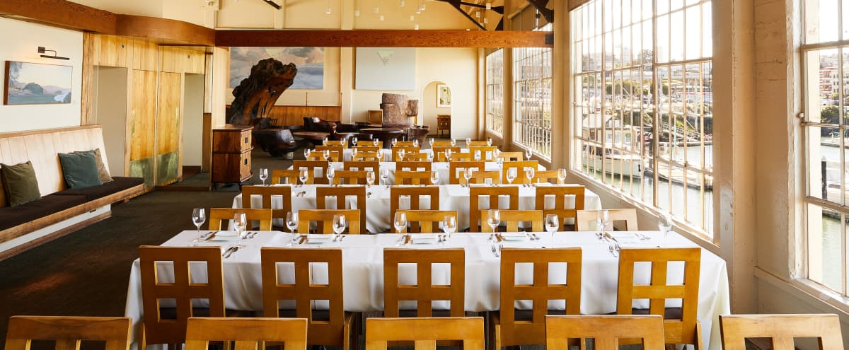 Historic Water Front Restaurant with Golden Gate Views (Food Included) in San Francsico Hero Image in Fort Mason, San Francsico, CA