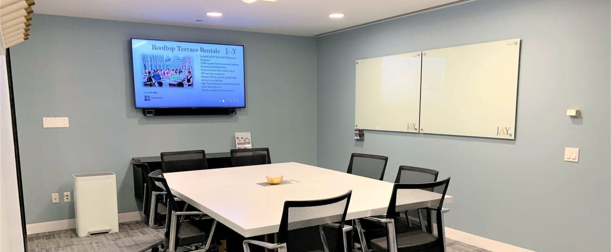 Wall Street Meeting Room, Square Meeting Space with Amenities - New Location in New York Hero Image in Financial District, New York, NY