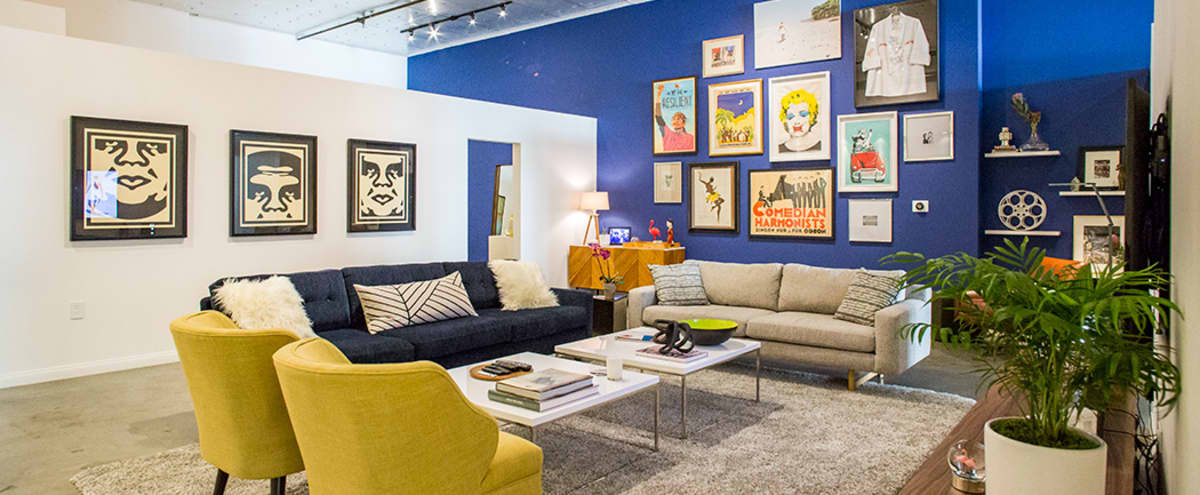 Designer gallery Loft w/ 14 ft ceilings in Los Angeles Hero Image in Central LA, Los Angeles, CA
