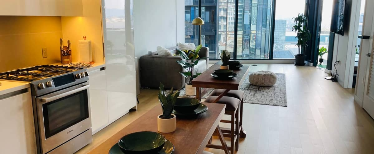 Downtown Luxury Apartment with Skyline View in Los Angeles Hero Image in Central LA, Los Angeles, CA