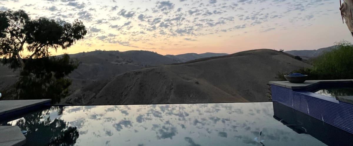 Mountain Infinity Edge Pool Views in Calabasas Hero Image in Malibu Canyon, Calabasas, CA