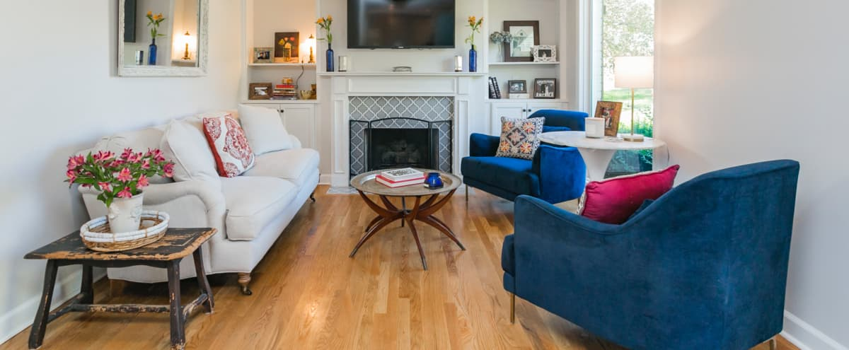 Mid Century East Nashville Home with lots of Natural Light in Nashville Hero Image in Rosebank, Nashville, TN