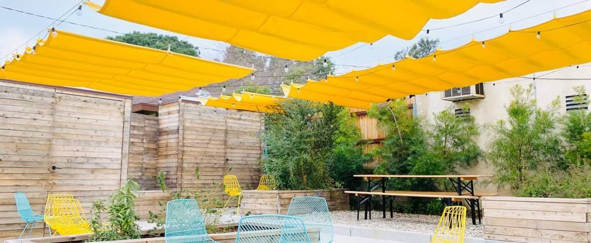 Modern outdoor patio attached to a cafe in Altadena Hero Image in undefined, Altadena, CA