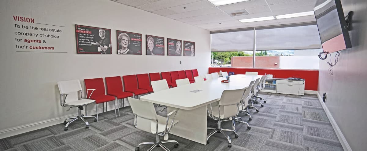 Classy and Modern Conference Room in San Jose Hero Image in Berryessa, San Jose, CA