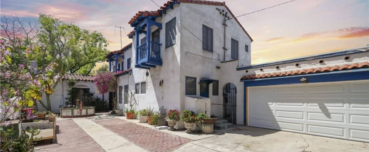 Spanish Colonial Revival house from 1927 in Los Angeles Hero Image in Harbor, Los Angeles, CA