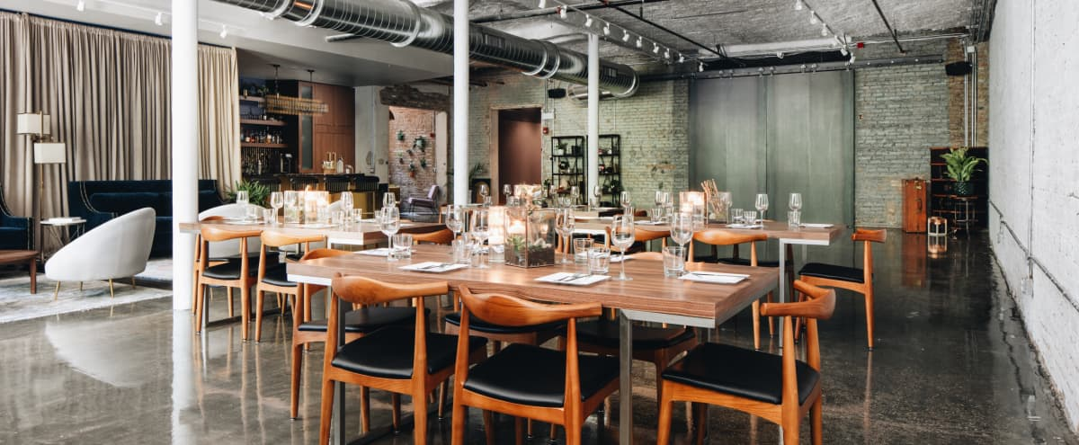 Elegant Customizable Wicker Park Event Space in Chicago Hero Image in Wicker Park, Chicago, IL