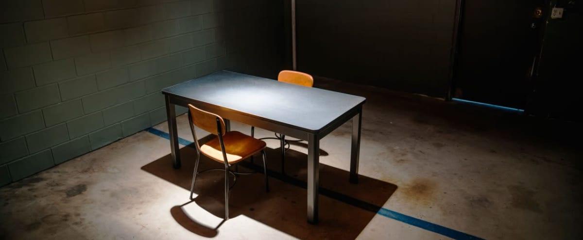 Interrogation Room for Filming & Photos in Los Angeles Hero Image in Northeast Los Angeles, Los Angeles, CA