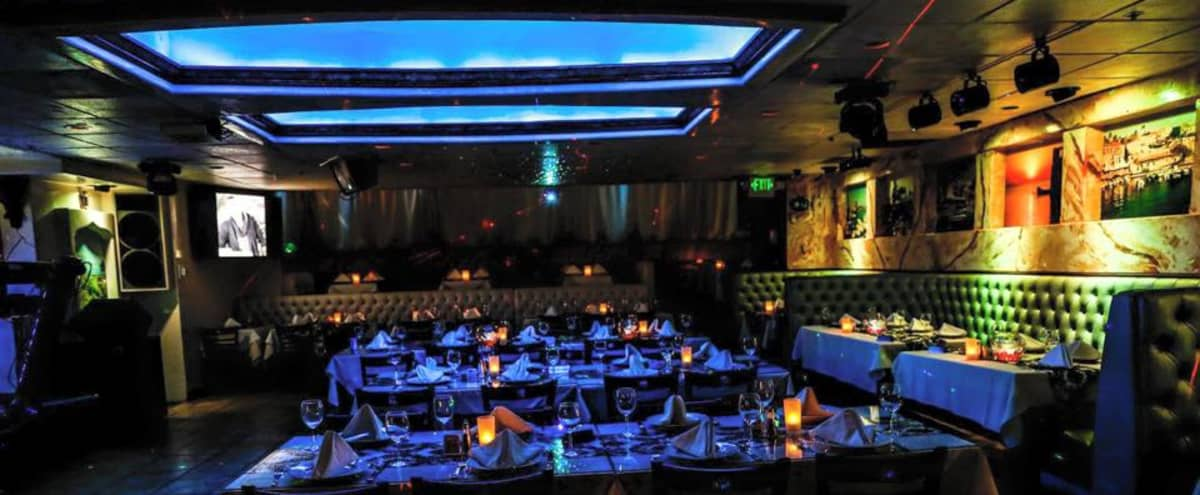 We are a nightclub/restaurant/lounge with an elegant, classy vibe! We are located in Westwood near Beverly Hills, Santa Monica, and Culver City. in Los Angeles Hero Image in West Los Angeles, Los Angeles, CA