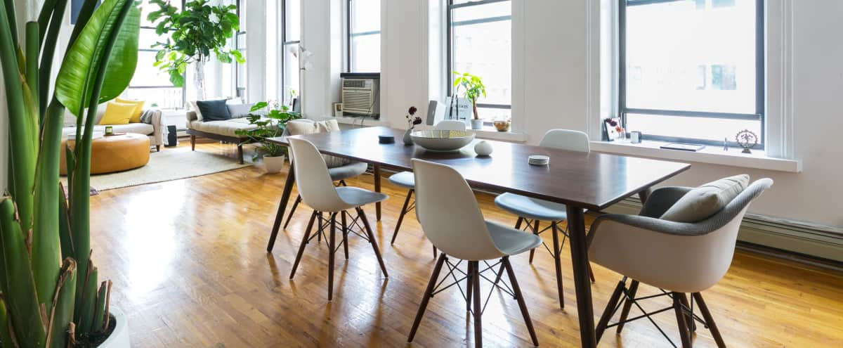 Spacious Light Tribeca Loft with Large Windows in New York Hero Image in Lower Manhattan, New York, NY
