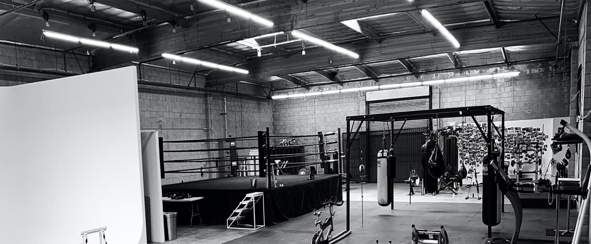 Boxing Gym in a Warehouse + Side Office in Los Angeles Hero Image in South Los Angeles, Los Angeles, CA