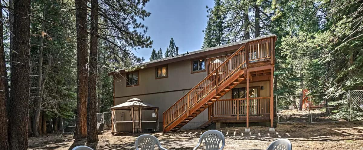 South Lake Tahoe Home with Large Wooded Backyard in South Lake Tahoe Hero Image in undefined, South Lake Tahoe, CA