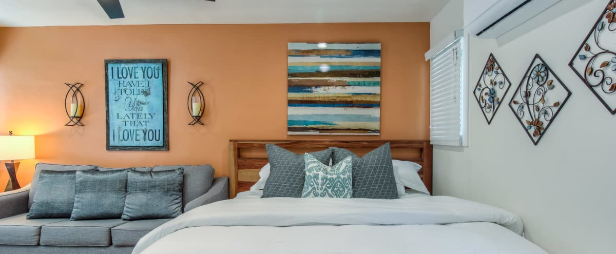 Perfect Staycation Studio Apartment in Long Beach Hero Image in East Village, Long Beach, CA