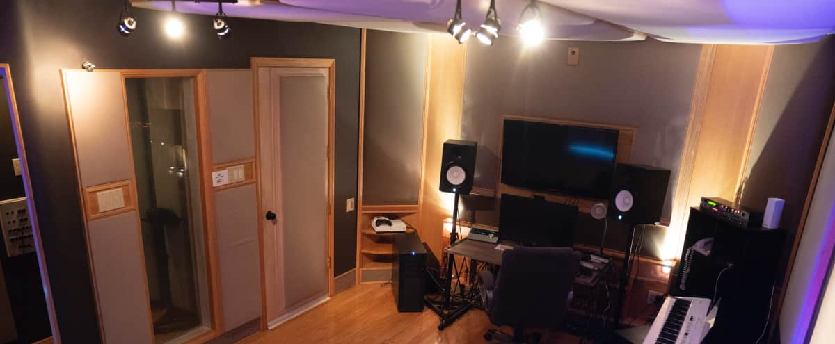 Recording Studio with Isolated Vocal Booth / Full Treated Room in Los Angeles Hero Image in Central LA, Los Angeles, CA