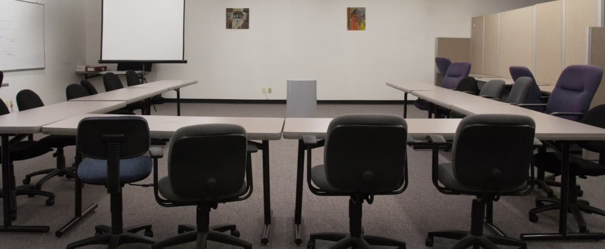 Equipped Training Room for up to 50 in Seattle Hero Image in Squire Park, Seattle, WA