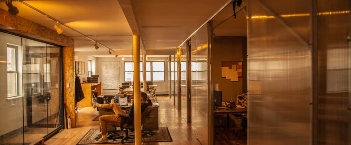 Shared Office Space in the Middle of Williamsburg in Brooklyn Hero Image in Williamsburg, Brooklyn, NY
