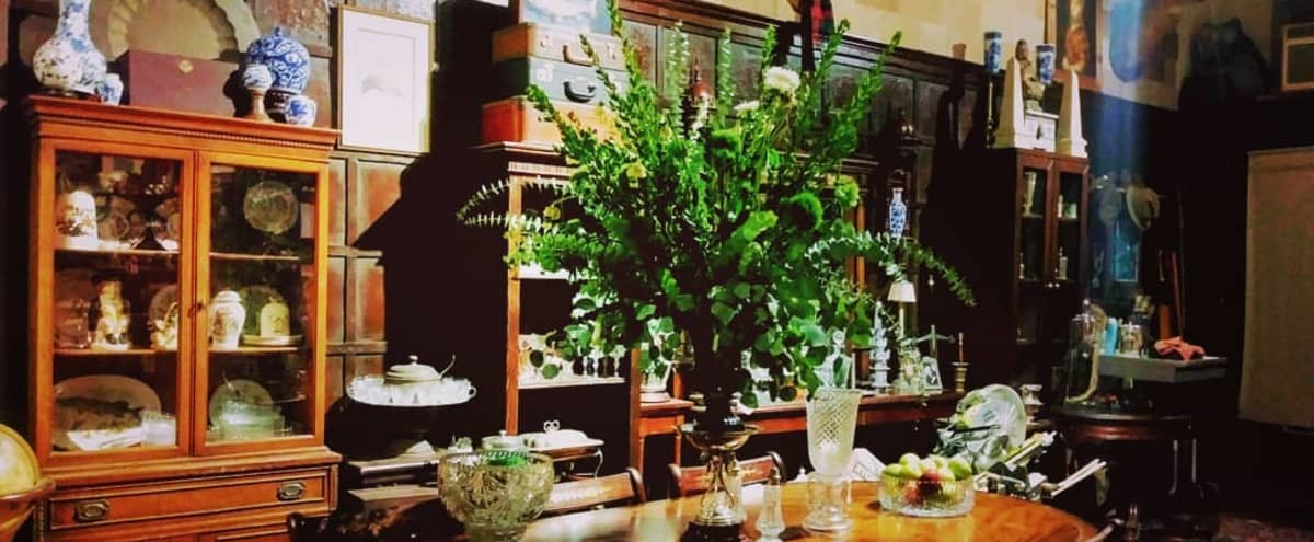English Manor Style Antique Shoppe & Event Space in Salem Hero Image in Little Armenia, Salem, MA