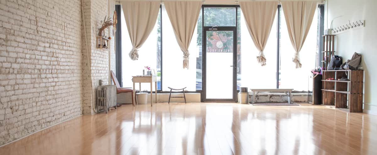 Bright & Tranquil Yoga Space in Brooklyn Hero Image in Greenpoint, Brooklyn, NY