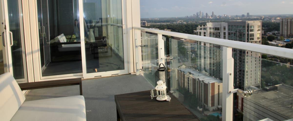 Spacious Luxury Buckhead Condo with Skyline View in Atlanta Hero Image in North Buckhead, Atlanta, GA