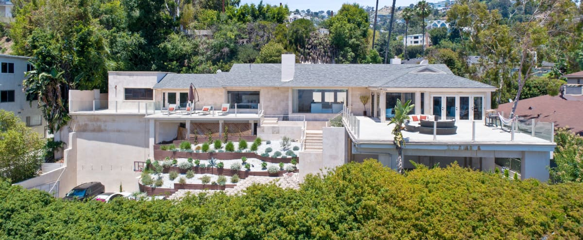Secluded Sunset Plaza Home with Panormaic views and Two Kitchens in west hollywood Hero Image in Central LA, west hollywood, CA