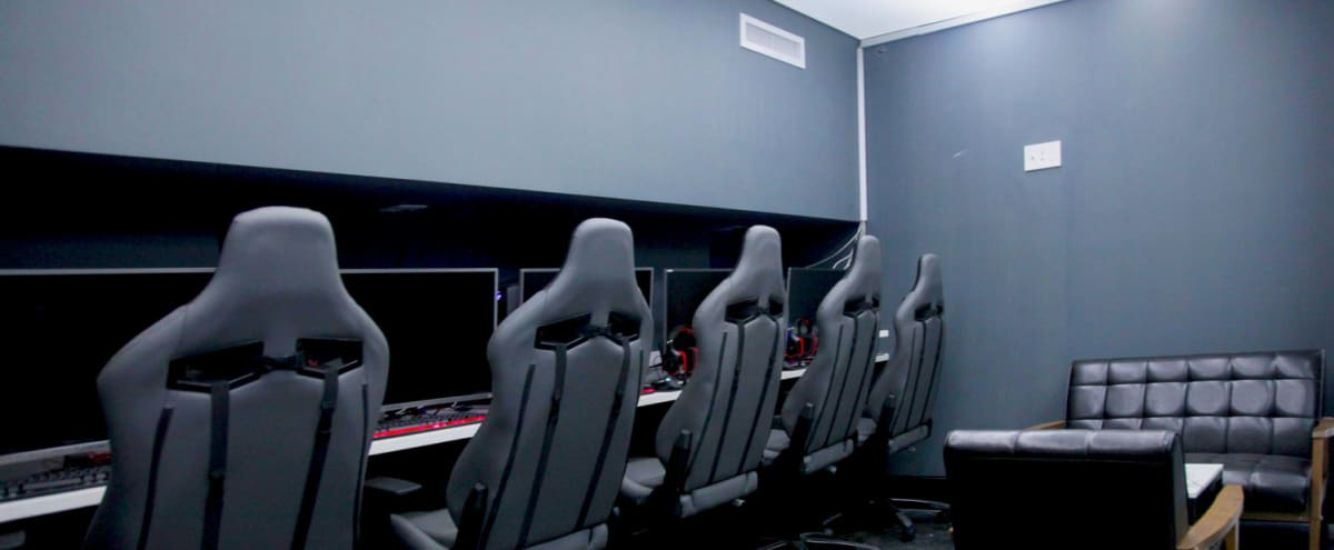 E-sports, gaming cafe, working shop, meeting, party, video shooting, CG workhub, private rooms, lan center, in New York Hero Image in Chinatown, New York, NY