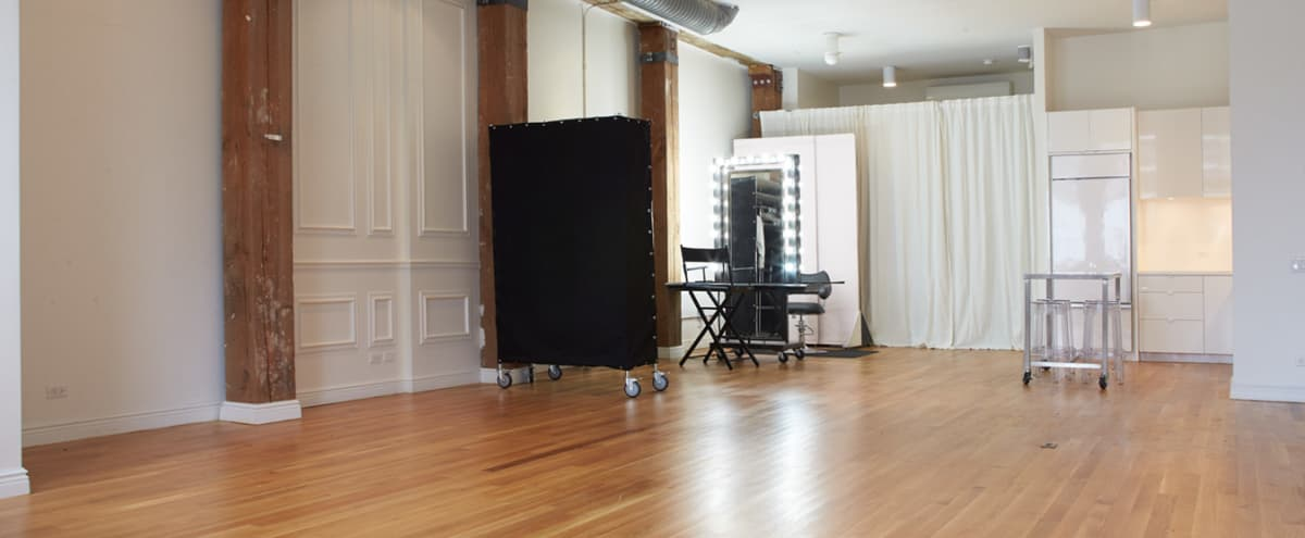 Bright Downtown Production Loft in New York Hero Image in Seaport, New York, NY