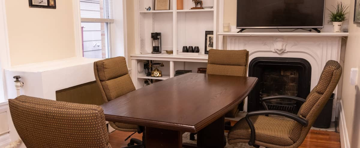 Intimate Meeting Room // Ideal for Group Work or Meetings in Boston Hero Image in Downtown, Boston, MA
