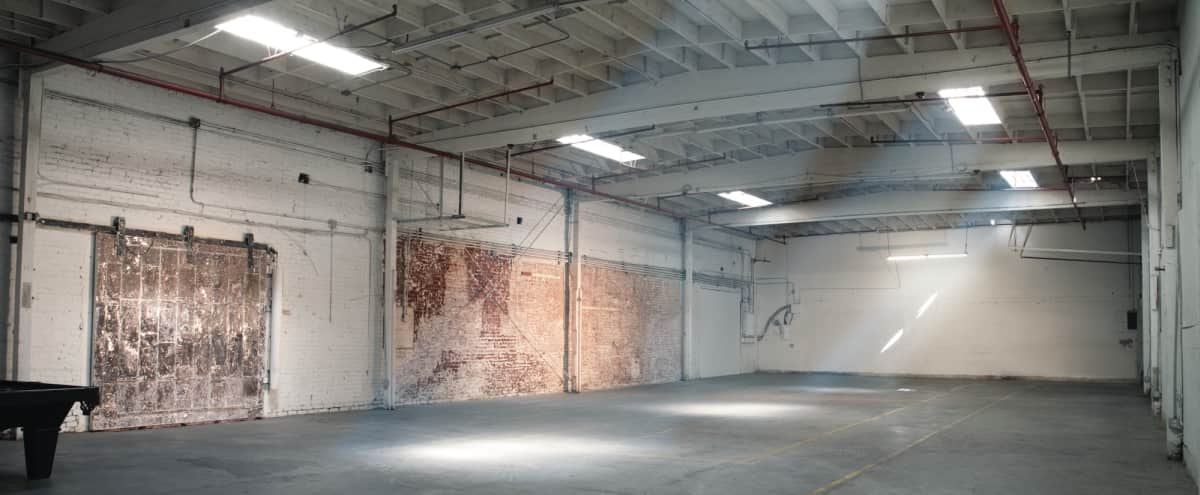 HUGE, INDUSTRIAL, OPEN 1924 ARCHITECTURAL WAREHOUSE FILM + PHOTO LOCATION - PARKING, DRIVE-IN Loading + EQUIPMENT ON SITE (no more pick up or drop off) in los angeles Hero Image in South Los Angeles, los angeles, CA